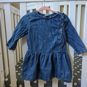 Baby Gap Denim Dress NWOT